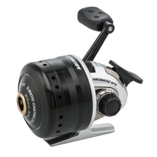 Abu Garcia Abumatic STX Spincast Reel 10 3.6:1 Gear Ratio 4 Bearings 8 lb Max Drag Right Hand Boxed