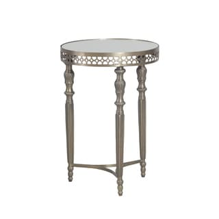 Bombay Outlet Monaco Antique Brass Round Table