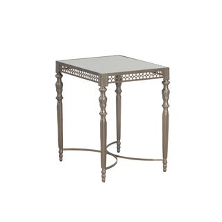 Bombay Outlet Monaco Antique Brass Side Table