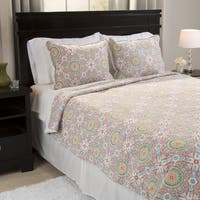 Windsor Home Millie Reversible 3-piece Quilt Set with Sherpa