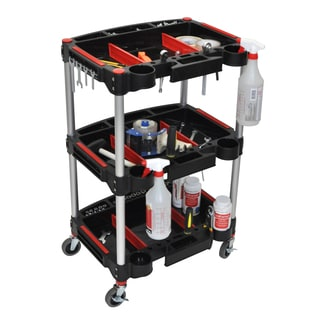 Luxor MC-3 Mechanics Cart 3-Shelf