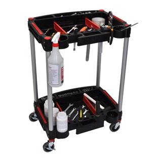 Luxor MC-2 Mechanics Cart 2-Shelf