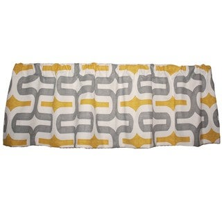 Taylor Marie Grey/ Corn Yellow Embrace Valance