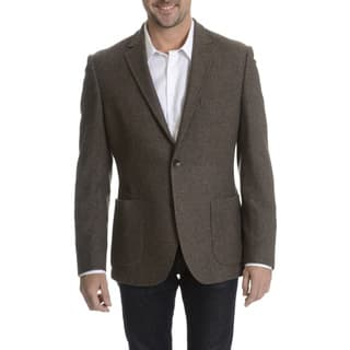 Daniel Hechter Men's 100-percent Fancy Wool Basketweave Sport Coat (As Is Item)|https://ak1.ostkcdn.com/images/products/10836235/P17878389.jpg?impolicy=medium