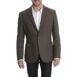 Daniel Hechter Men's 100-percent Fancy Wool Basketweave Sport Coat