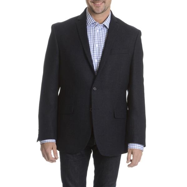 Daniel Hechter Men 39 S 100 Percent Fancy Wool Basketweave