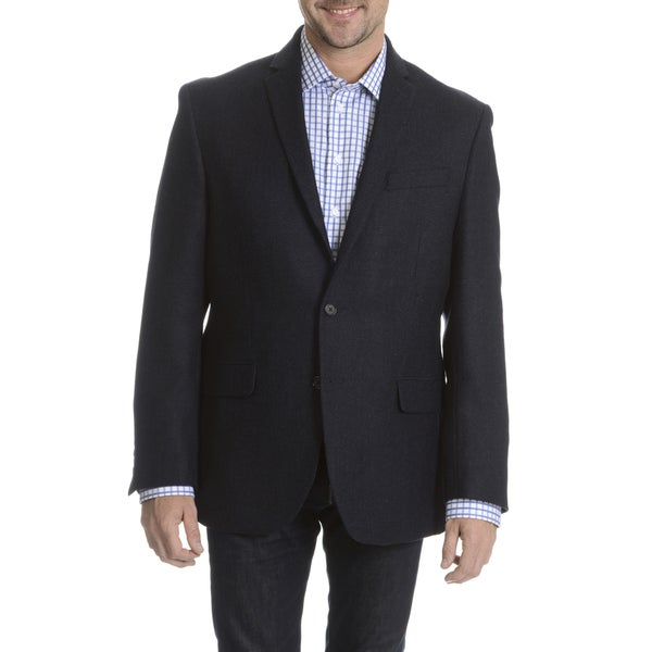 Daniel Hechter Men's 100-percent Fancy Wool Basketweave Sport Coat