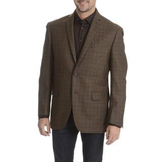 Daniel Hechter Men's 100-percent Fancy Wool Plaid Sport Coat|https://ak1.ostkcdn.com/images/products/10836256/P17878394.jpg?impolicy=medium