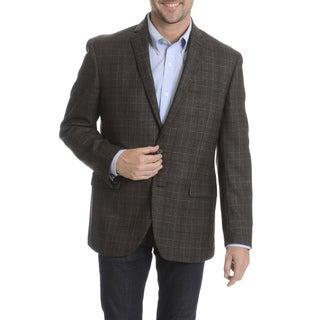 Daniel Hechter Men's 100-percent Fancy Wool Plaid Sport Coat