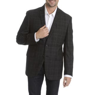 Daniel Hechter Men's 100-percent Fancy Wool Plaid Sport Coat (As Is Item)|https://ak1.ostkcdn.com/images/products/10836265/P17878396.jpg?impolicy=medium
