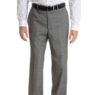 Palm Beach Men's Black/ Grey Wool Performance Suit Separates Suit Pant|https://ak1.ostkcdn.com/images/products/10836327/P17878526.jpg?impolicy=medium