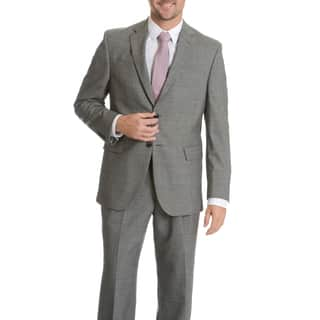 Palm Beach Men's Black/ Grey Wool Performance Suit Separates Coat (Option: 42l)|https://ak1.ostkcdn.com/images/products/10836329/P17878527.jpg?impolicy=medium