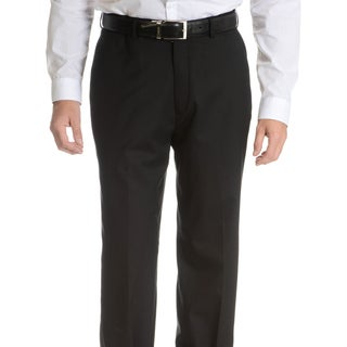 Palm Beach Men's Black Wool Performance Suit Separates Suit Pant (More options available)