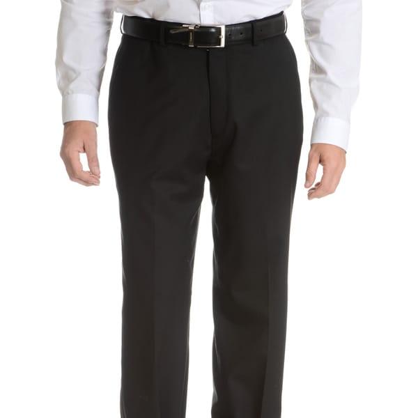 Palm Beach Men's Black Wool Performance Suit Separates Suit Pant. Opens flyout.