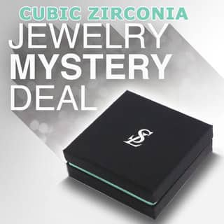 Suzy Levian 3 Piece Sterling Silver Cubic Zirconia Mystery Ring, Earring and Necklace|https://ak1.ostkcdn.com/images/products/10836349/P17878731.jpg?impolicy=medium