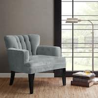 Madison Park Gianna Blue Tufted Club Chair