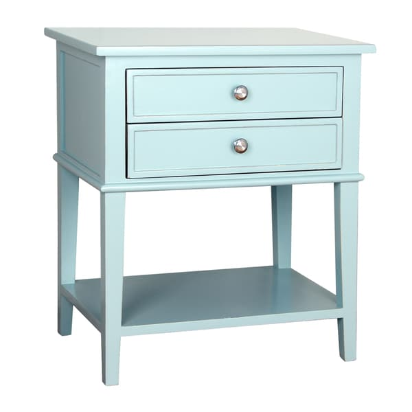 Porthos Home Avery 2 Drawer Side Table