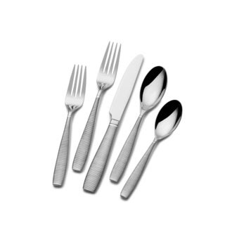 St. James Forged Horizon 18/10 Stainless Steel 45pc Flatware Set.