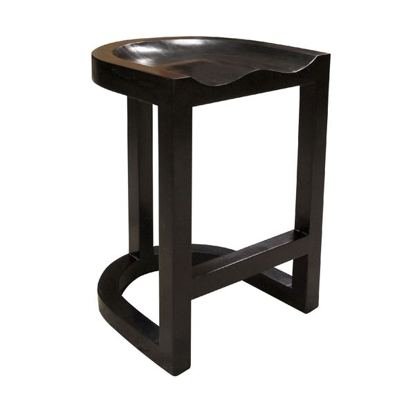 Saddle Counter Stool Hand Rubbed Black Free Shipping  : Saddle Counter Stool Hand Rubbed Black 6495531d fdc6 48cf b95a 82d1e794cb7c600 from www.overstock.com size 600 x 600 jpeg 14kB