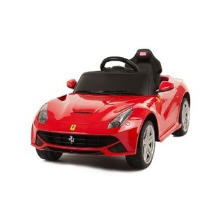 Best Ride On Cars 12V Red Ferrari F12