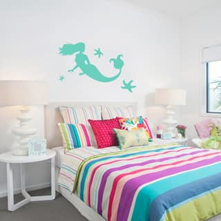 Large Mermaid and Starfish Wall Decals|https://ak1.ostkcdn.com/images/products/10836478/P17878770.jpg?impolicy=medium