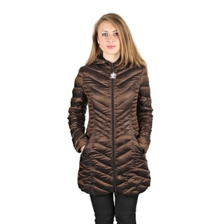 Laundry by Shelli Segal Woman's Bronze Packable Coat