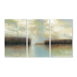 Stupell Winter Solace 3-piece Triptych Wall Plaque Set