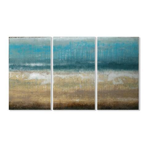 Stupell Twilight Coast 3-piece Triptych Wall Plaque Set