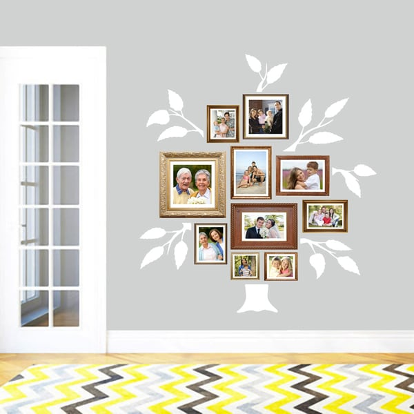 Shop Large Family Tree Wall Decal On Sale Free Shipping On