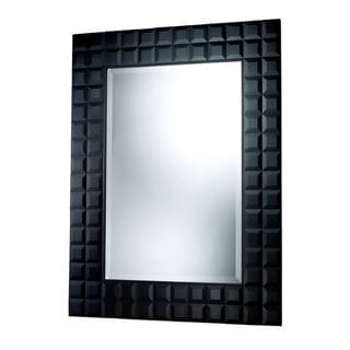 Helena Beveled Mirror (Black)