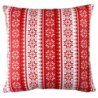 Artisan Pillows 17-inch Christmas Stars Stripes Red Indoor Holiday Throw Pillow. Opens flyout.