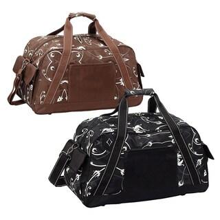 Goodhope Flower 20-inch Carry On Travel Weekender Duffel Bag