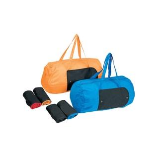 Goodhope Lightweight Foldable Wallet Duffel Bag (Option: Orange)