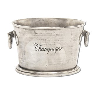 Special Occasion Solid Aluminum Wine and Champagne Cooler