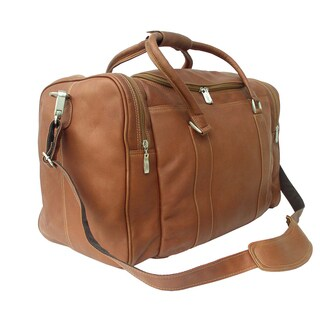 Piel Leather 20-inch Classic Weekend Carry-On Duffel Bag (3 options available)