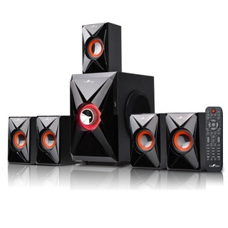 beFree Sound Orange 5.1 Channel Surround Sound Bluetooth Speaker System