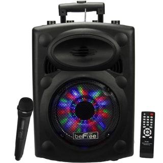Portable beFree Sound Speaker with USB-SD-FM Radio