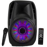 beFree Sound Bluetooth Portable Speaker with USB/SD/FM Radio