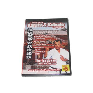 Okinawan Karate + Kobudo Legends #5 DVD Jundokan RS-0611 Hojo Undo Shime Waza
