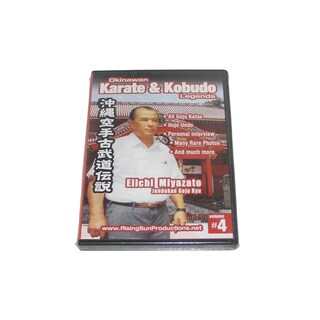 Okinawan Jundokan Goju Ryu Karate + Kobudo Legends #4 DVD Miyazato RS0610 Chojun