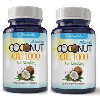 Organic Virgin Coconut Oil Softgels 120 Count (2 Month Supply)