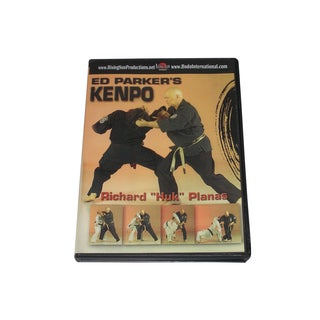 Ed Parker Chinese Kenpo Karate Training DVD Richard Planas kempo martial arts