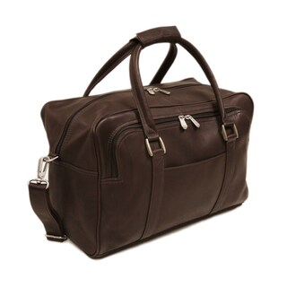 Piel Leather 15-inch Mini Carry-On Duffel Bag (3 options available)