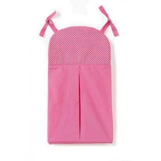 One Grace Place Simplicity Hot Pink Diaper Stacker