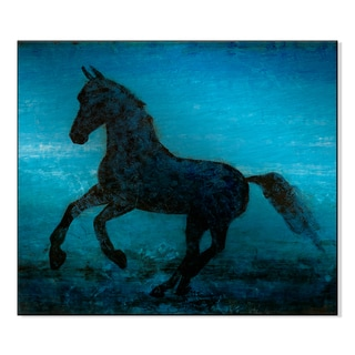 Gallery Direct Equis I Print by St. John on Mounted Metal Wall Art