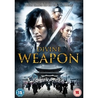 Divine Weapon DVD Ahn Sung Ki korean martial arts action 2008