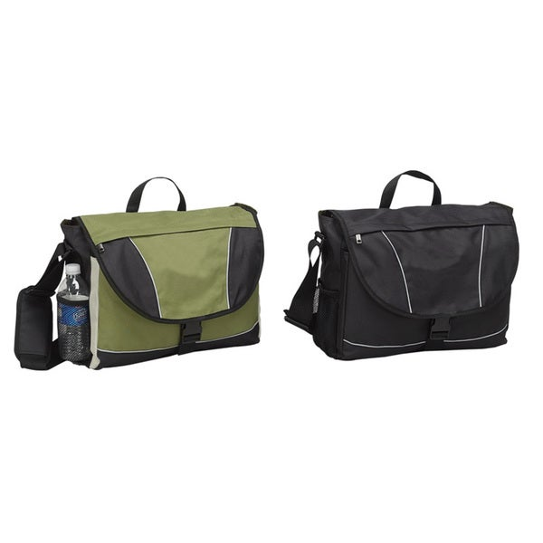 Goodhope Eco Green Recycled PET 15-inch Laptop Macbook Messenger Bag