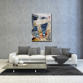 Ready2HangArt Zane 'New Bet XII' Abstract Canvas Wall Art