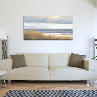 Studio 212 'Sea Breeze' Textured Canvas Wall Art (24 x 48)