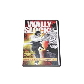 Canadian Wally Slocki Karate Fighting Legend DVD M10 Sparring tournamen champ
